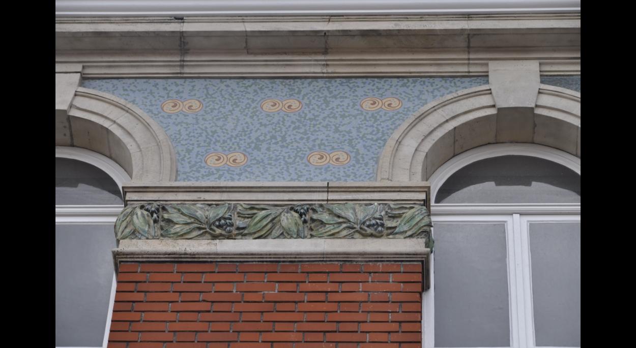 rénovation des mosaïques