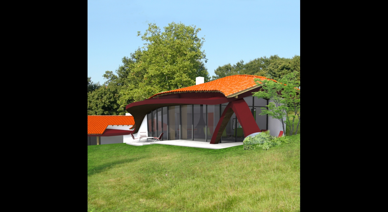 Extension habitation en milieu rural