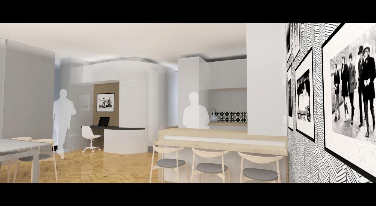 Rénovation d'un appartement de 80m2 dans le quartier St Georges dans le Vieux-Lyon