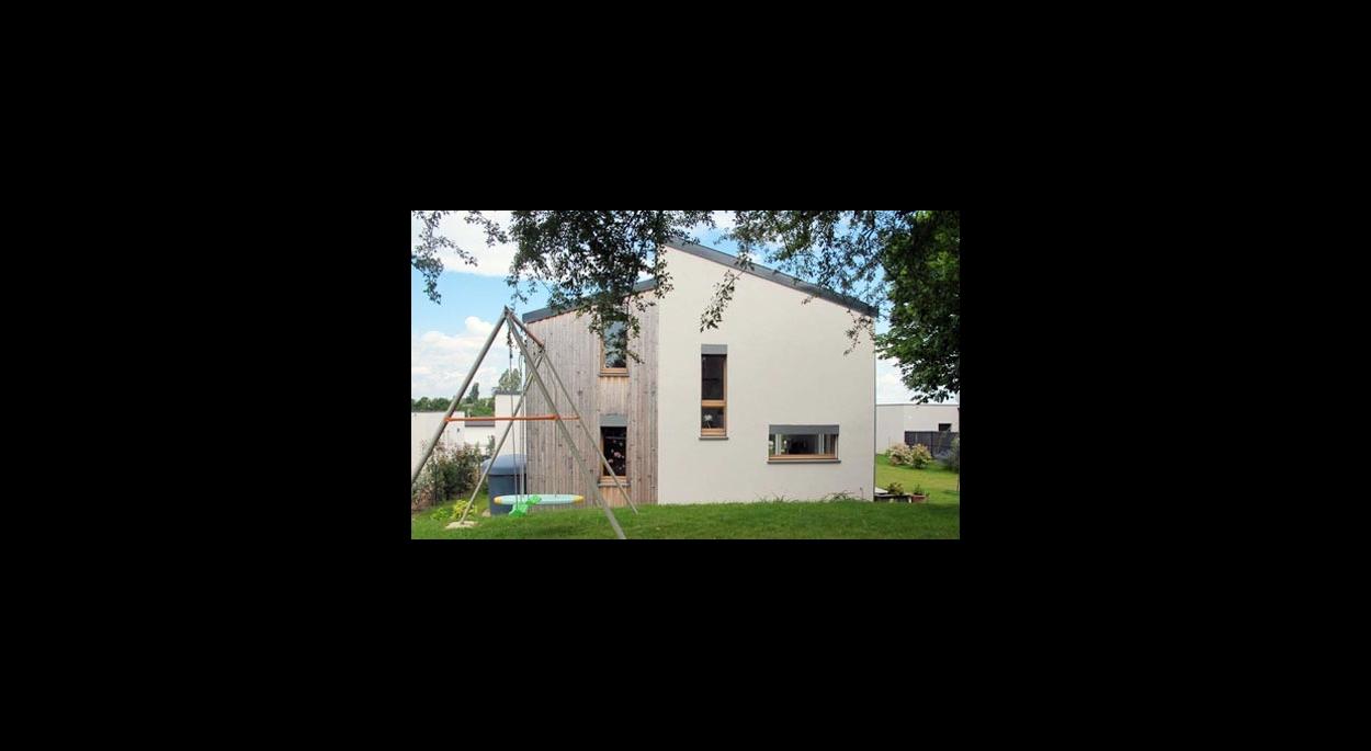 Conception d'une maison passive ossature bois, Rhône-Alpes