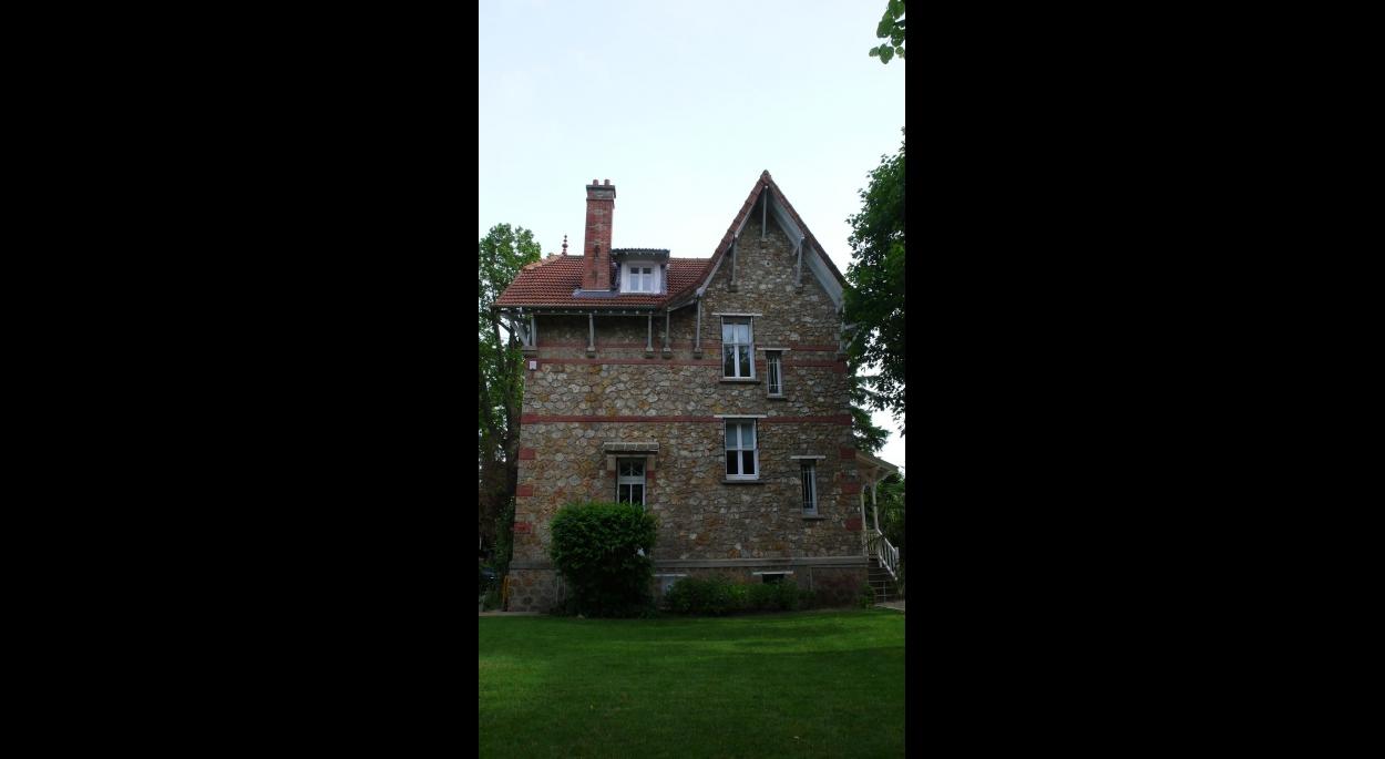 Existant: la façade nord donnant sur le jardin