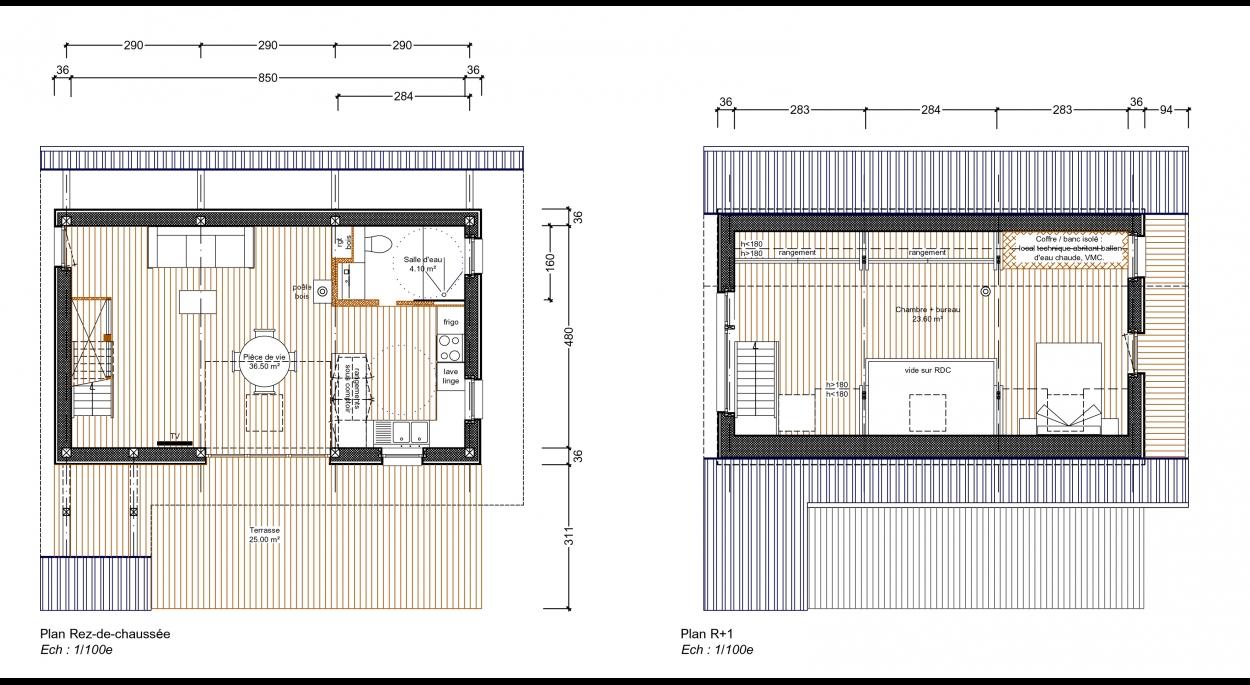 Plans d'aménagement intérieur