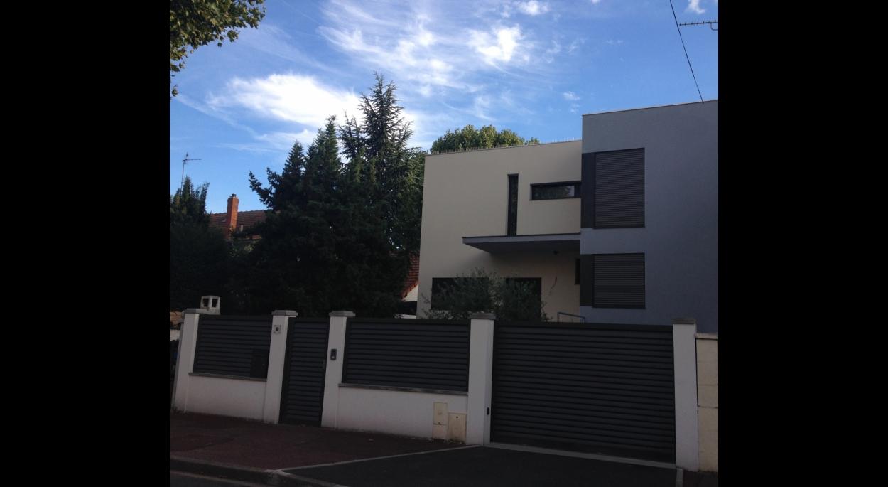 Maison individuelle à Joinville, Façade rue