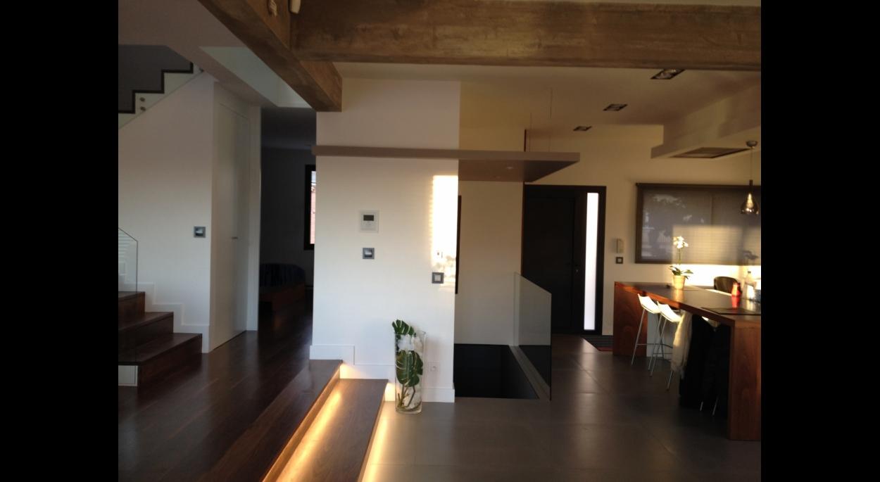 Maison individuelle à Joinville, Ambiance intérieure