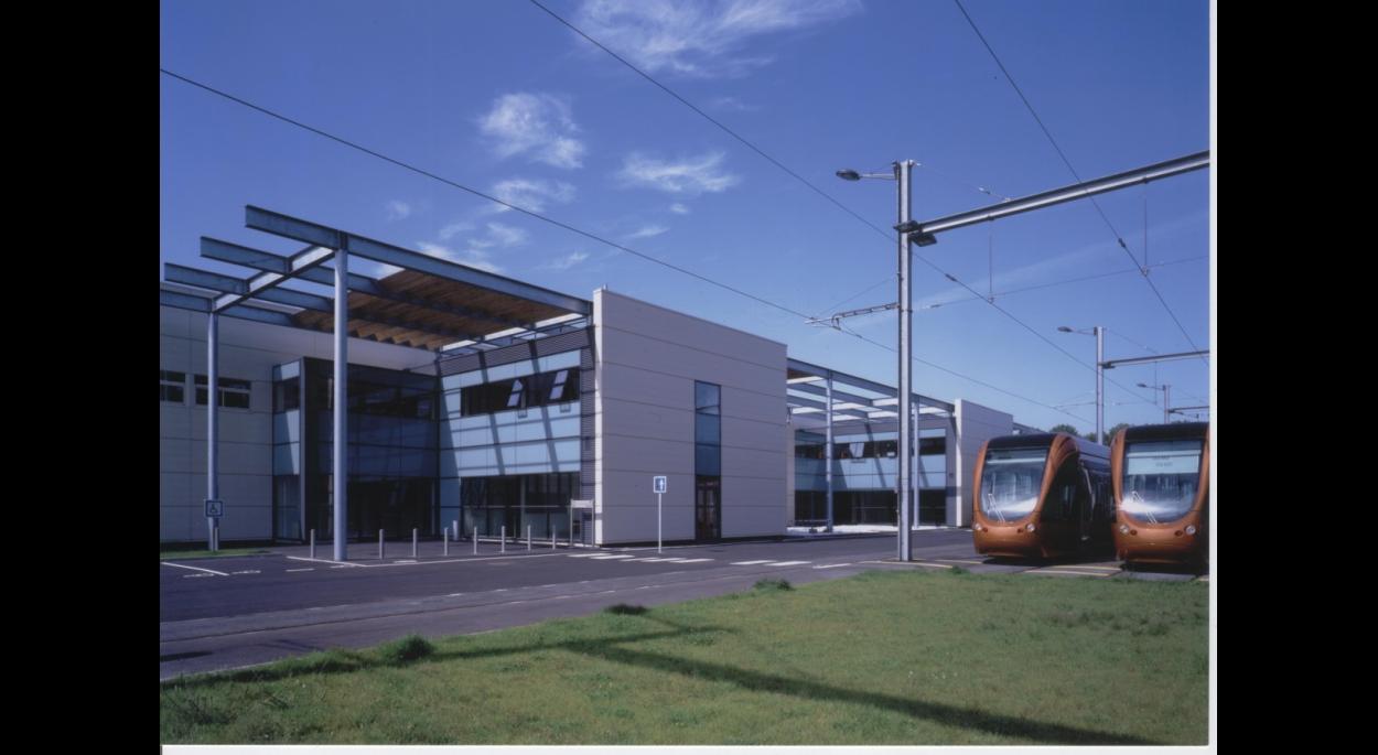 Architecte Le Mans centre de maintenance et de remisage tramway, le mans | l