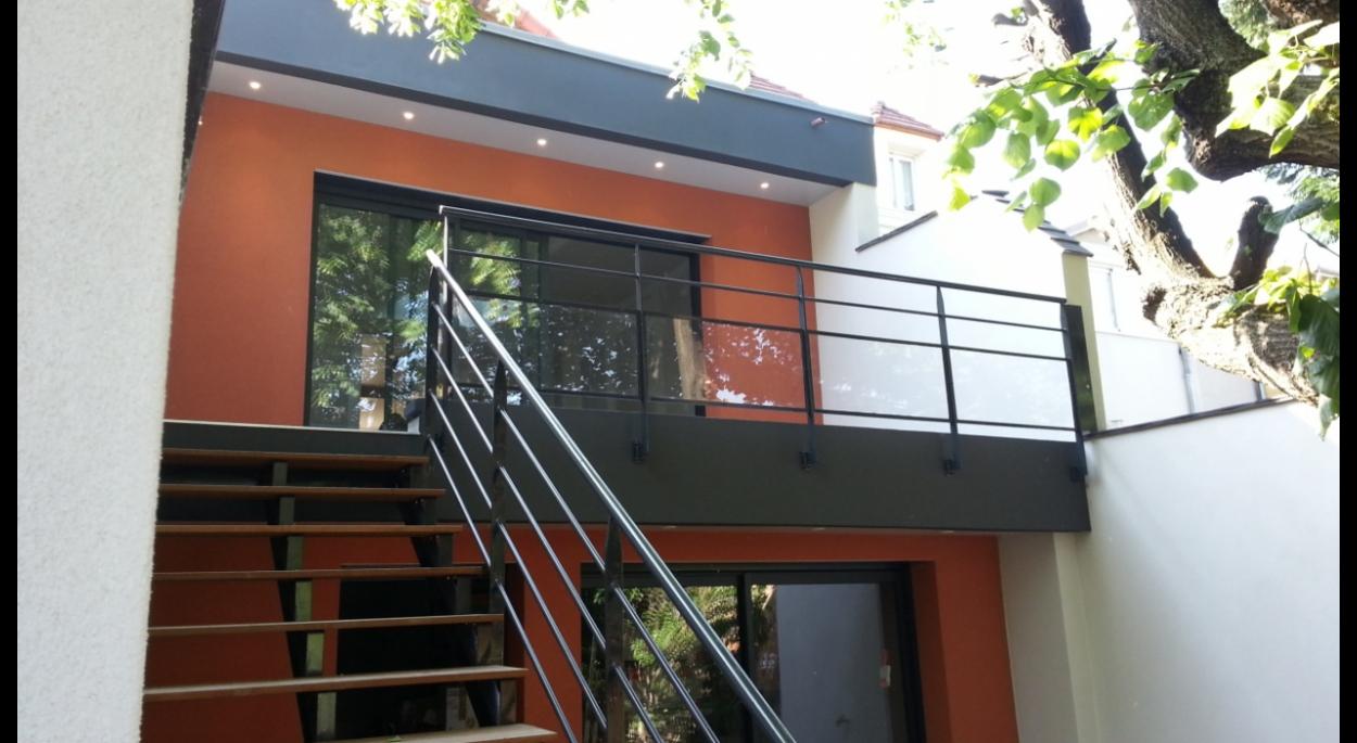 Extension maison nanterre humbert architecte