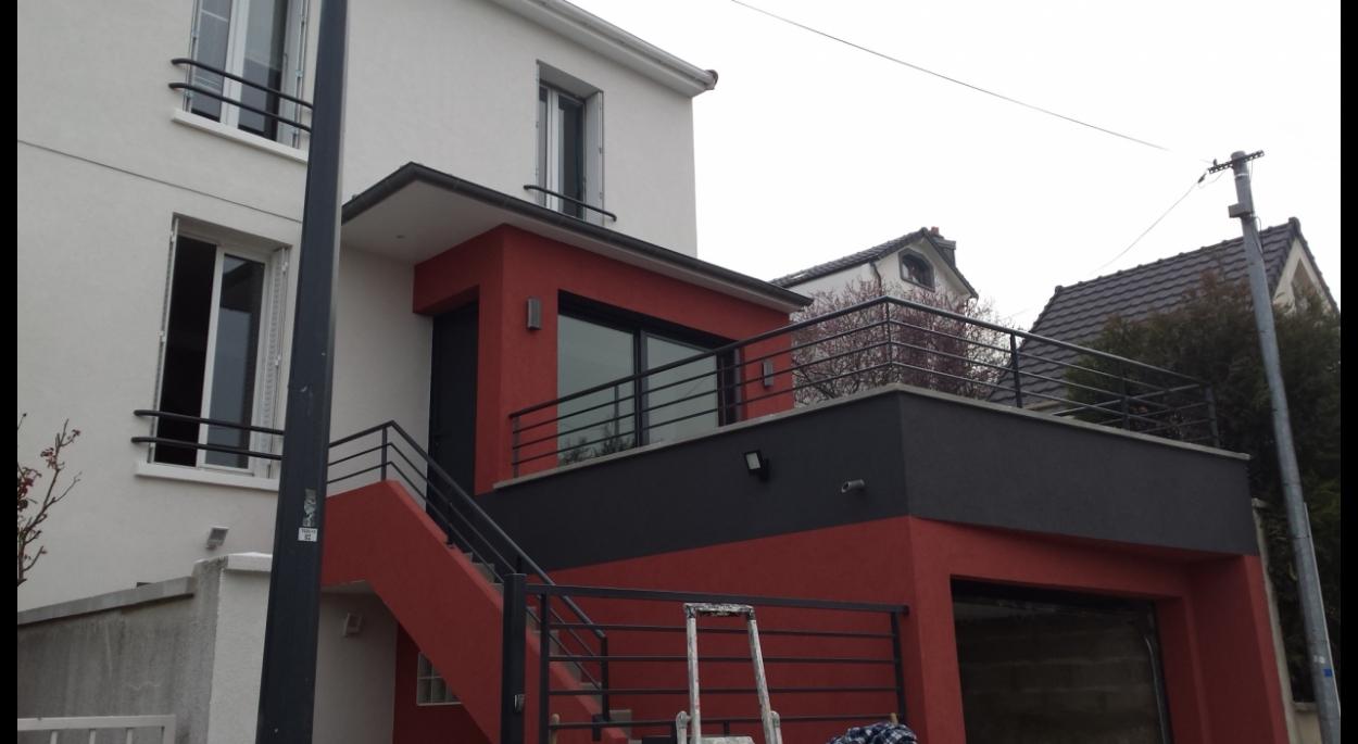 Extension maison fontenay sous bois humbert architecte
