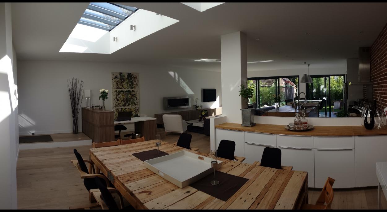 verriere maison fontenay sous bois humbert architecte