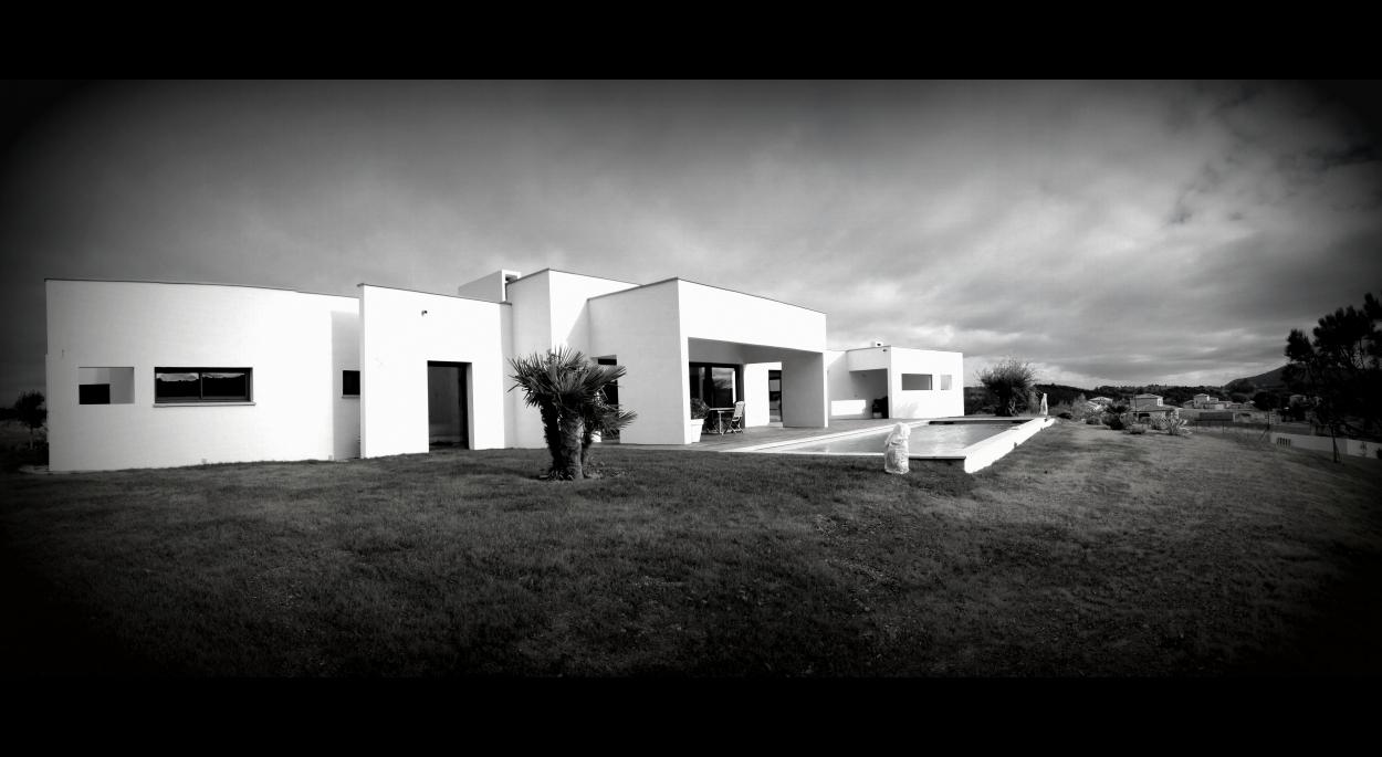 Villa contemporaine d'Architecte à Carcassonne