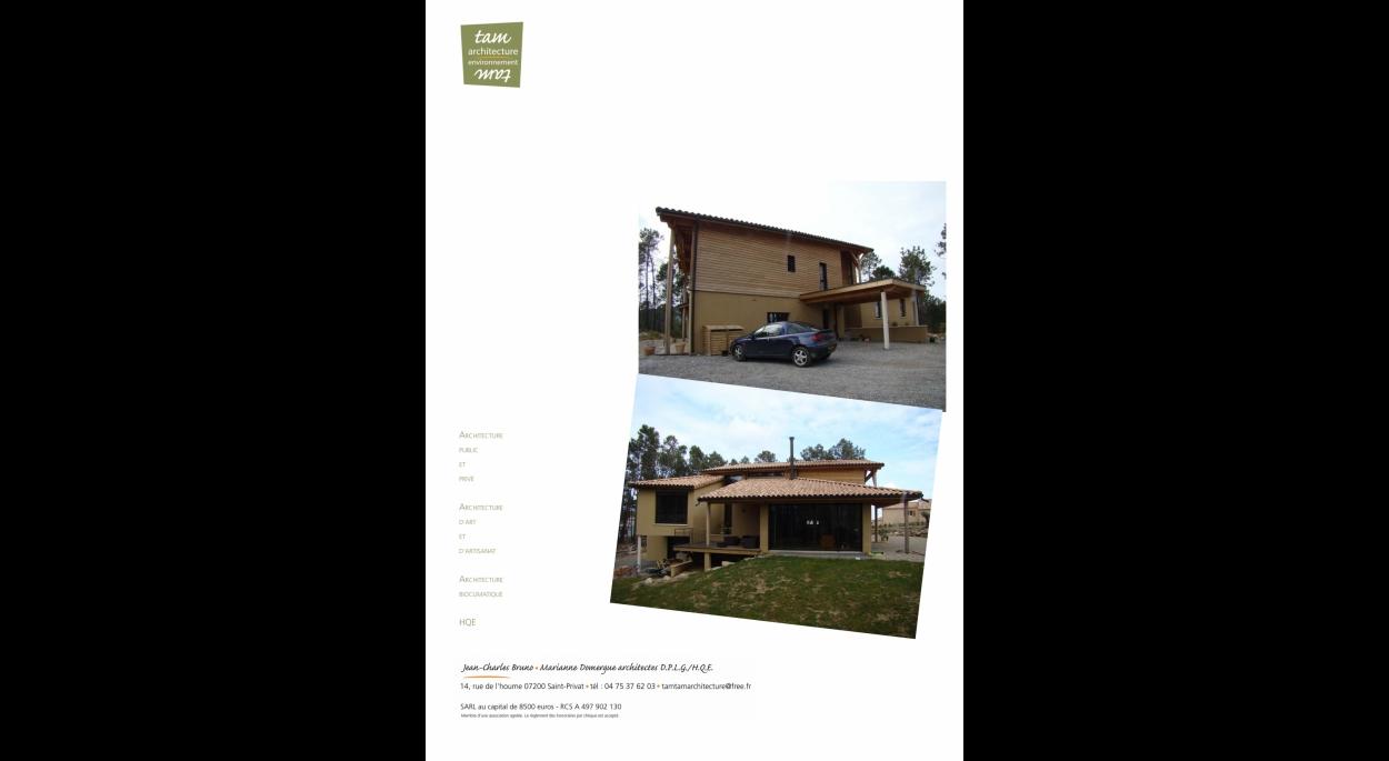 visitez notre site:  http://www.tamtam-architecture.fr