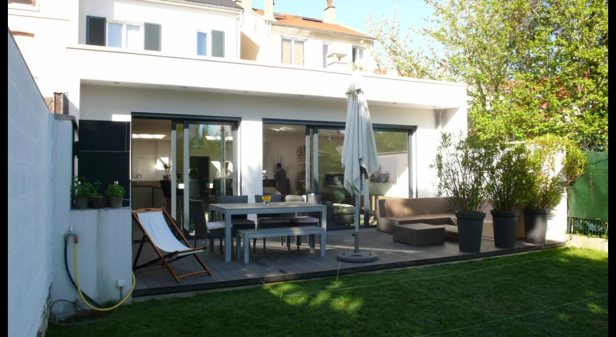 extension surelevation de maison fontenay sous bois humbert architecte