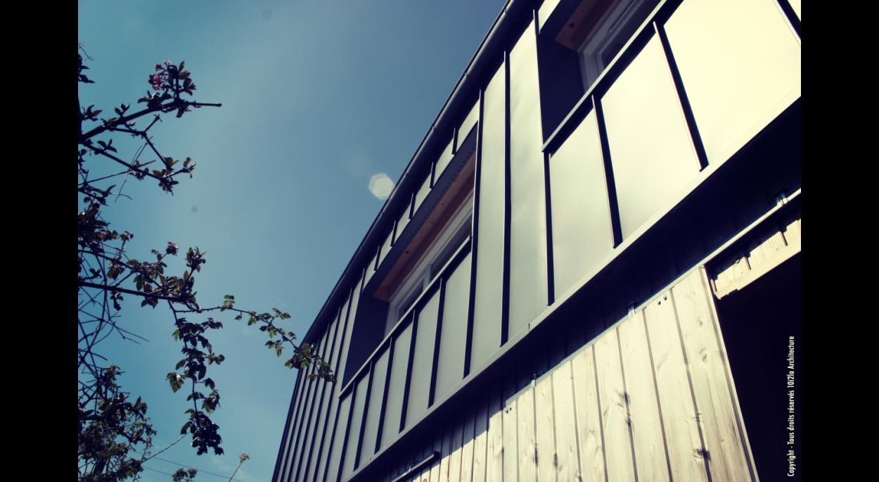 Matériaux façade principale