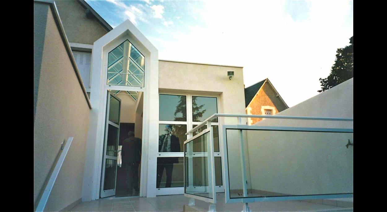 Extension jardin d'hiver et terrasse (1996)