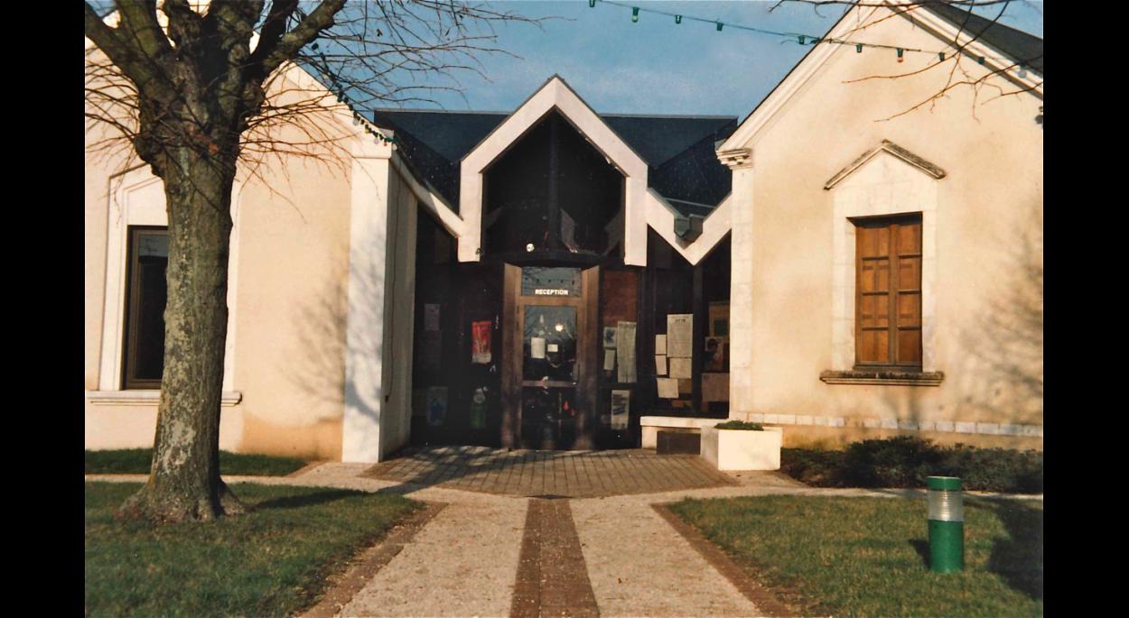 Après travaux : façades Sud-Est (1983)