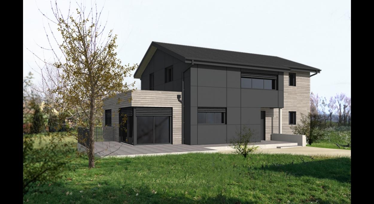 Construction D Une Maison Individeuelle R D Architectes Brenthonne Haute Savoie Ordre Des Architectes