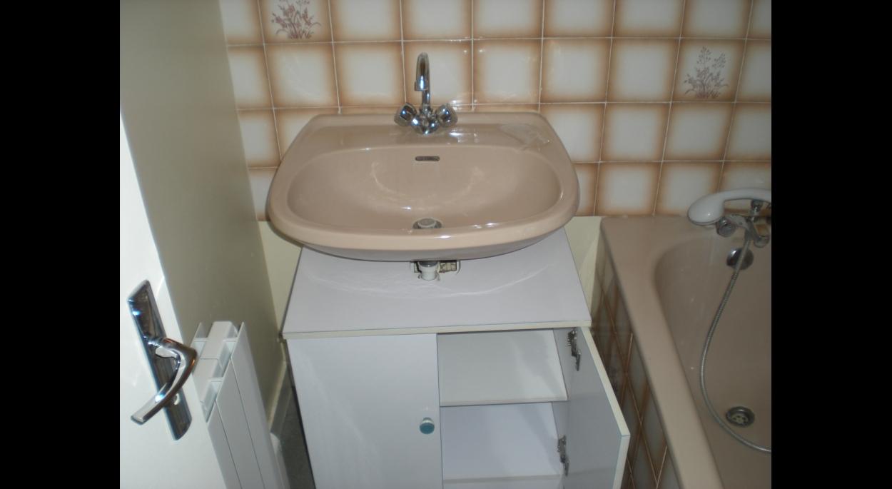 Etat des lieux: salle de bain