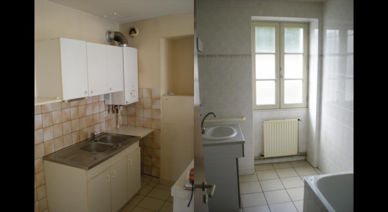 Etat des lieux: cuisine & salle de bain