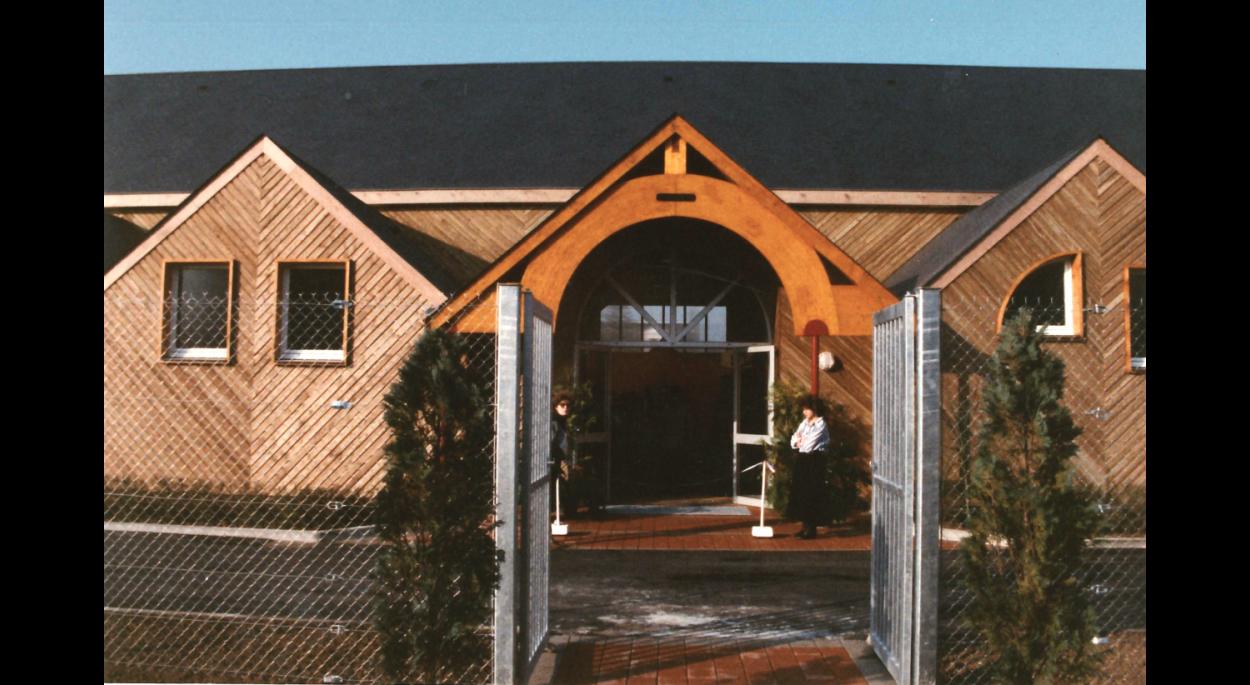 Entrée façade Sud (03/1989)
