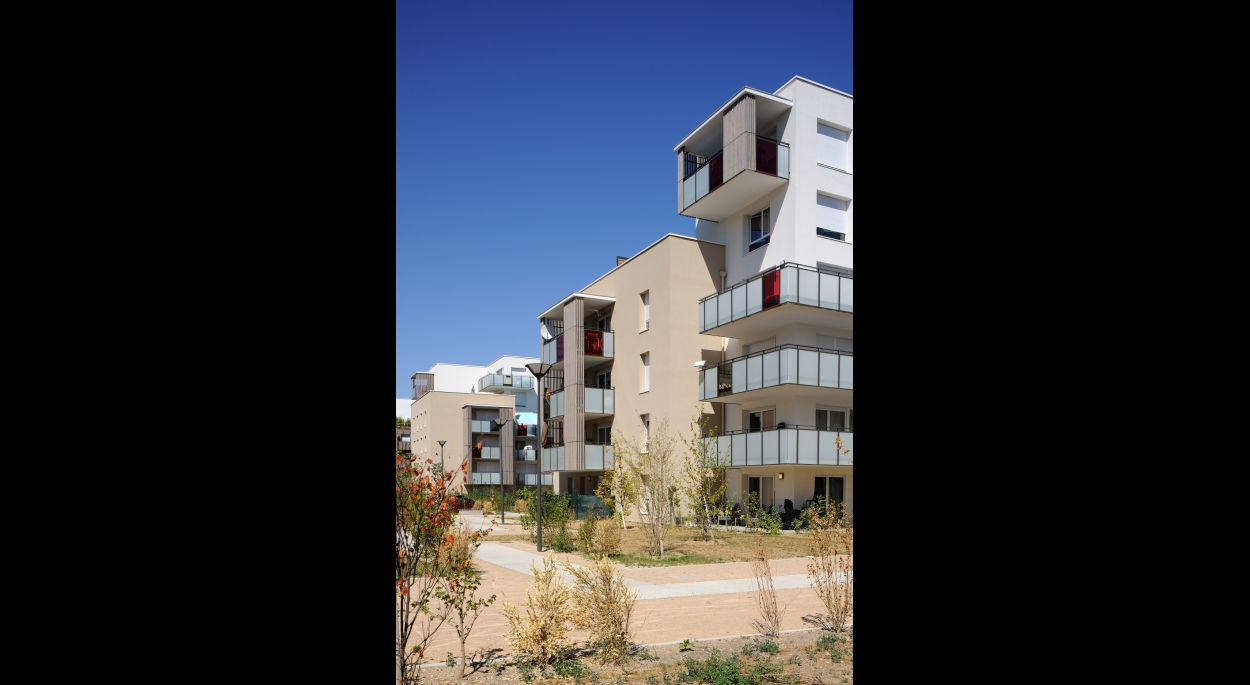 Concerto : 170 logements contemporains, modulables et... accessibles à Saint-Fons - Archigroup - façade