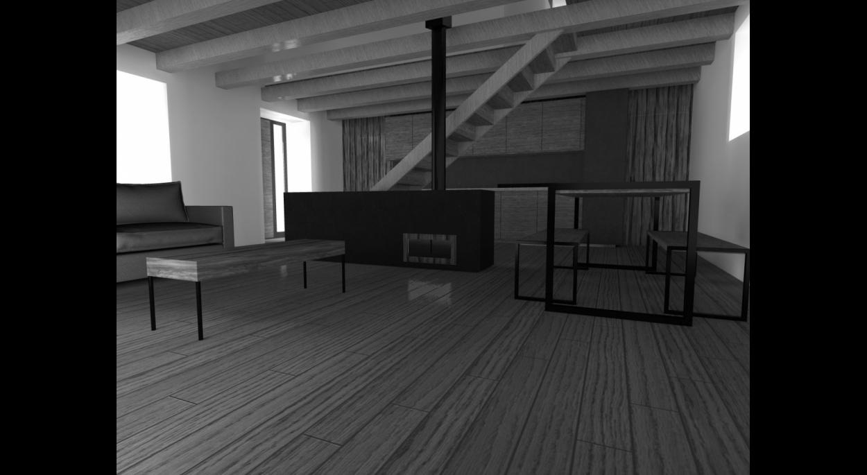 Recomposition maison de campagne - 2