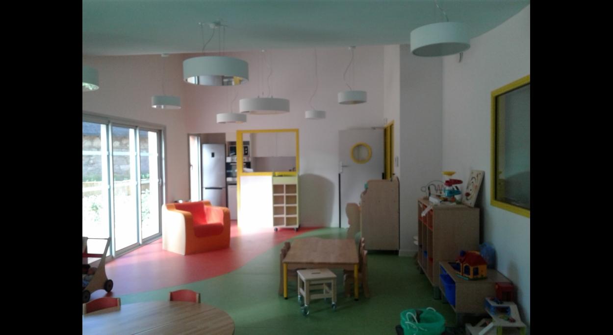 Un intérieur tout en couleur