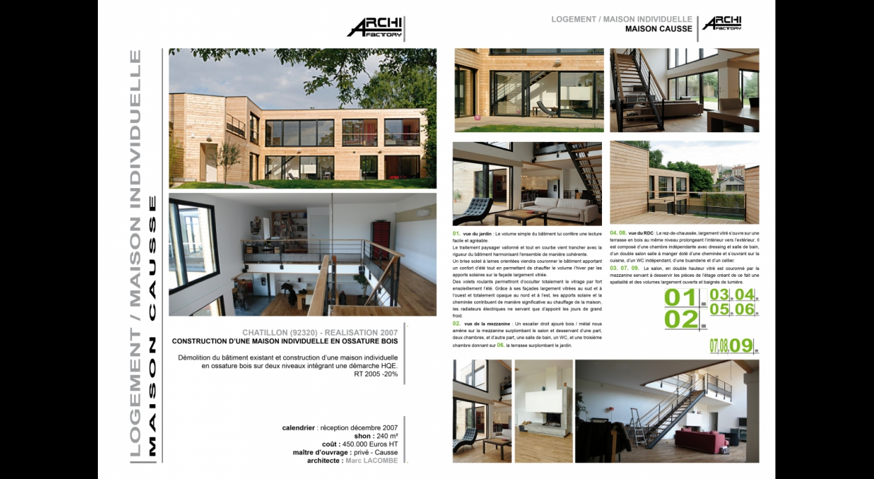 ARCHIFACTORY - Maison Causse