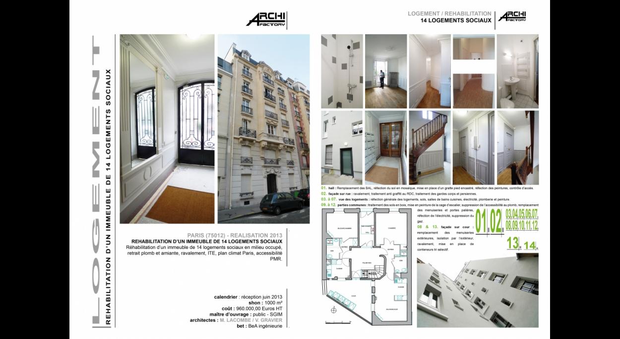 ARCHIFACTORY - Elogie 13 rue Lacoste 75012 Paris