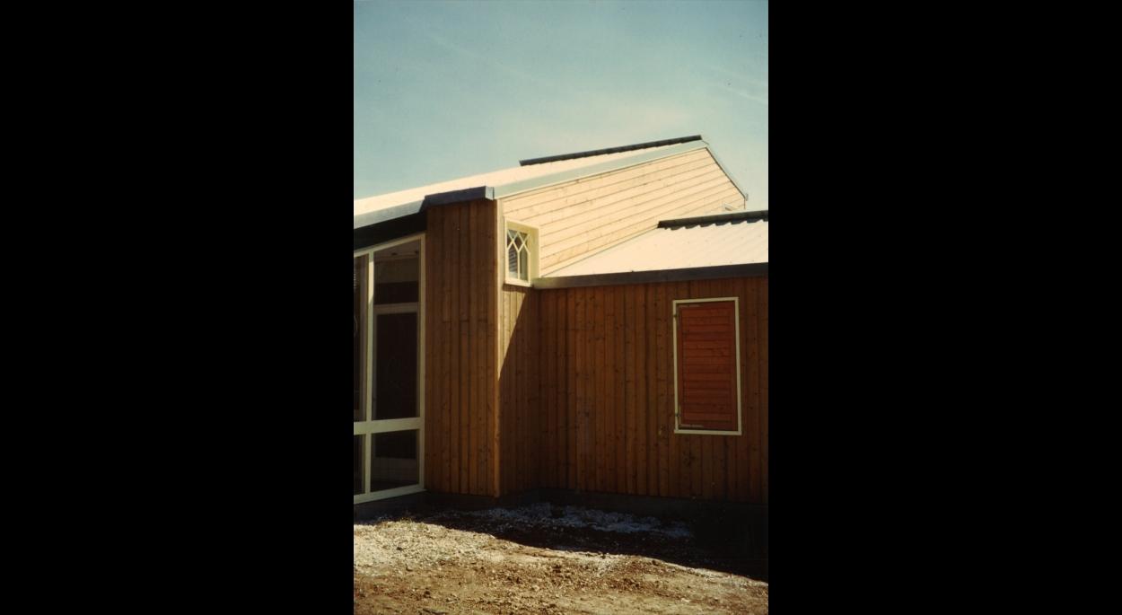 Zoom bâtiment logement en ossature bois