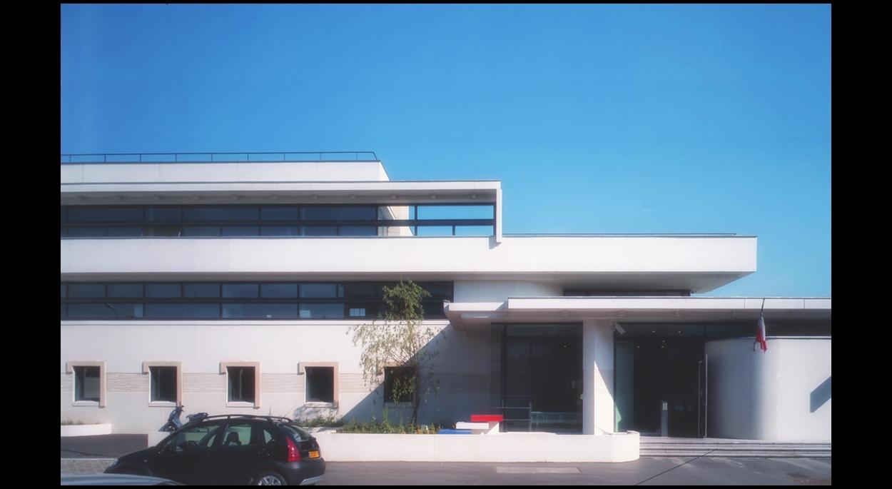 Ministère de l'intérieur - Construction du commissariat de Saint-Ouen