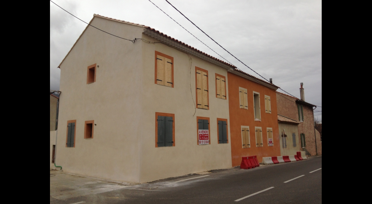 Maisons de village rénovées