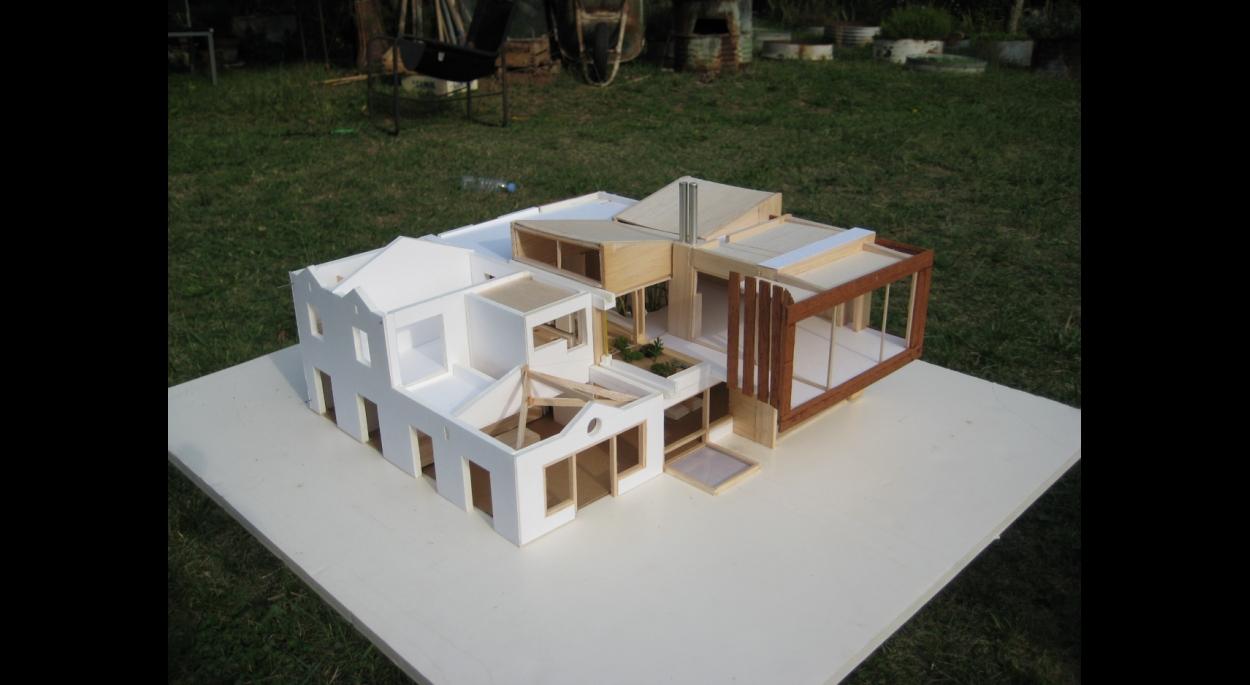 Maquette du projet vue de haut