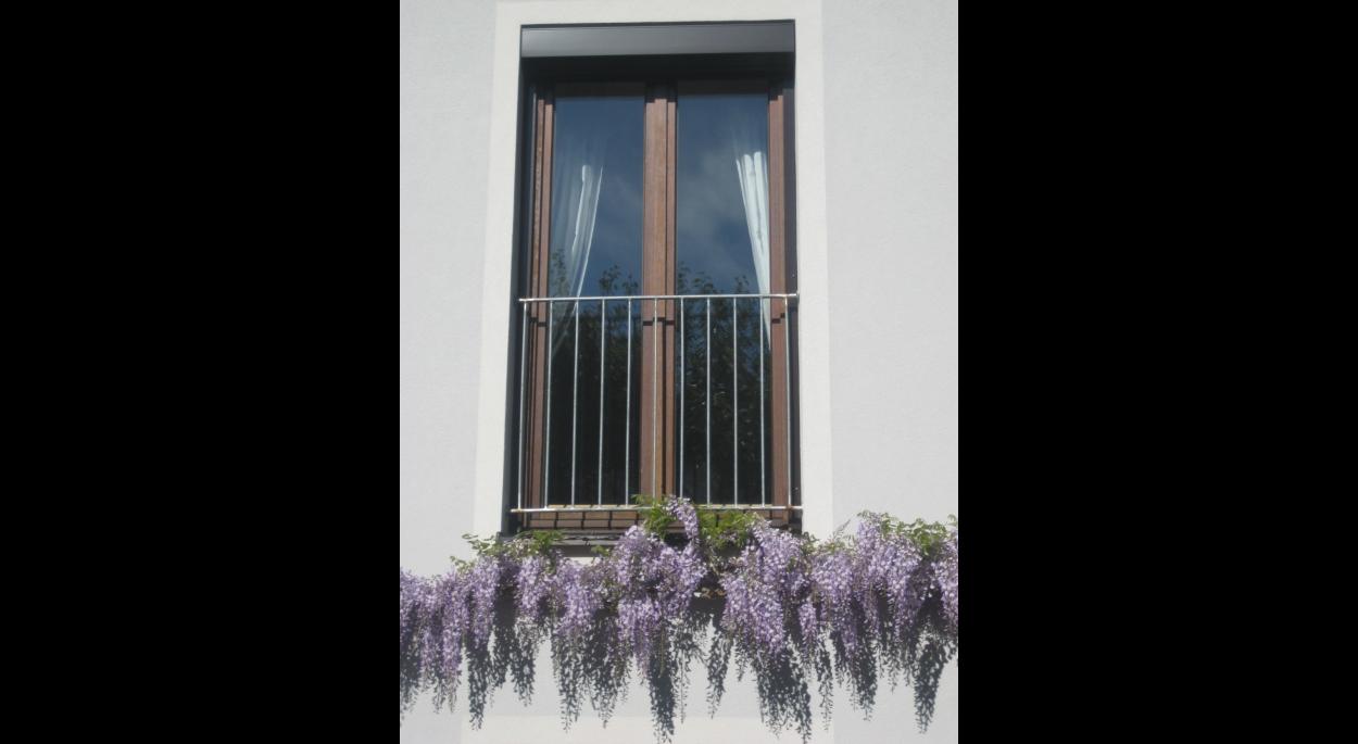 Elément de plantation à la façade
