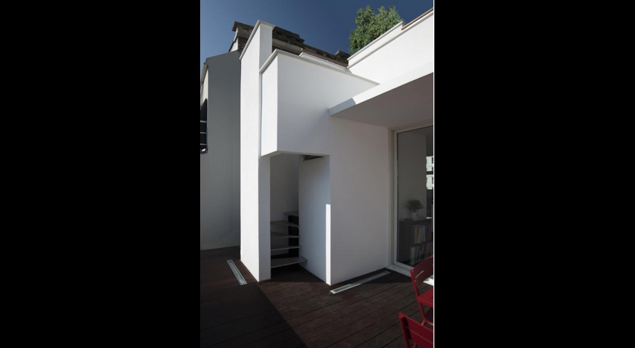 Marc Younan Architecte - Surélévation Paris 16 - Vue 2
