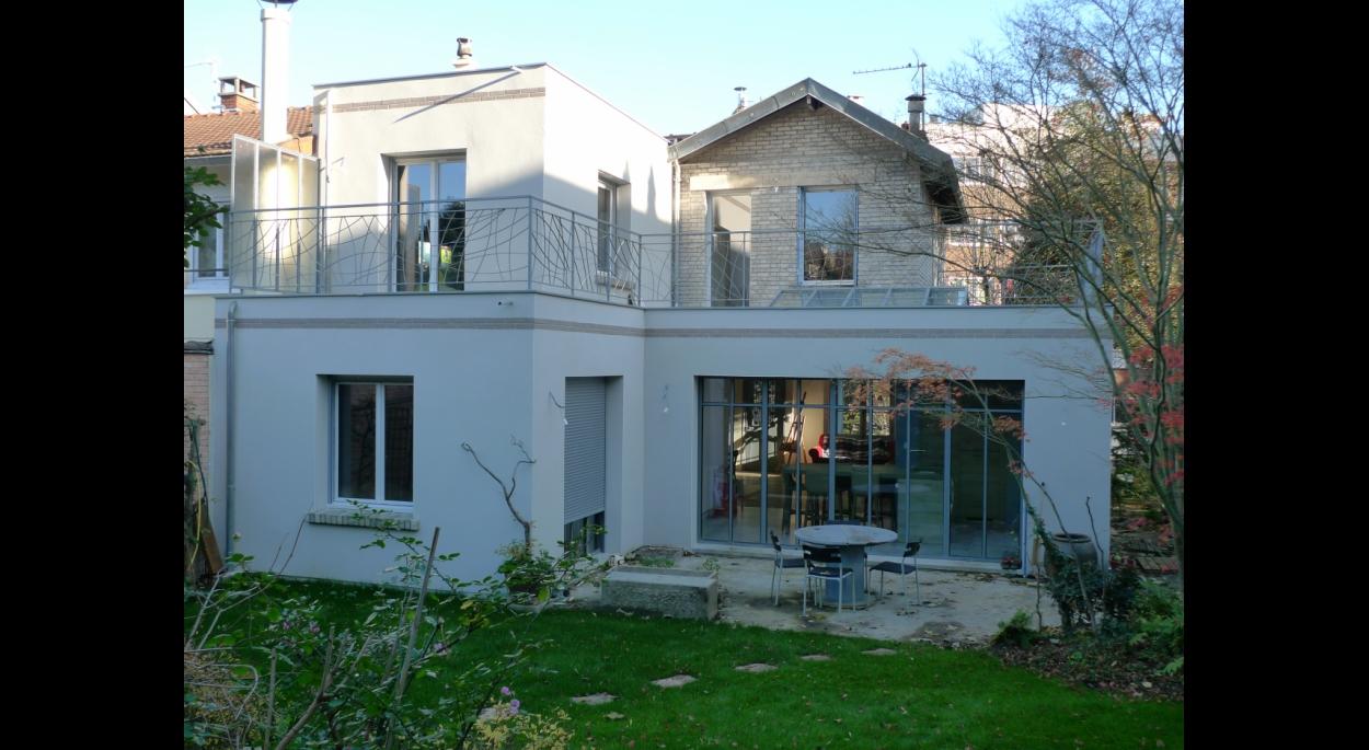 extension, maison, Meudon