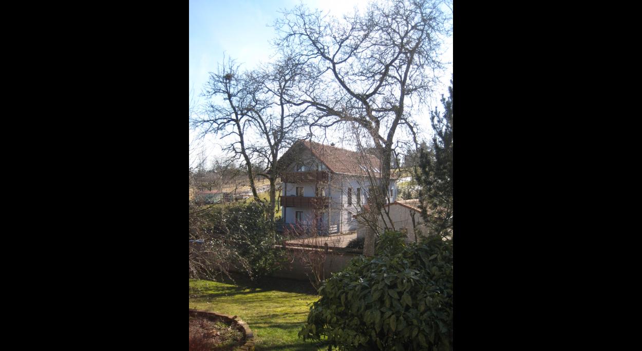 Maison rural moderne