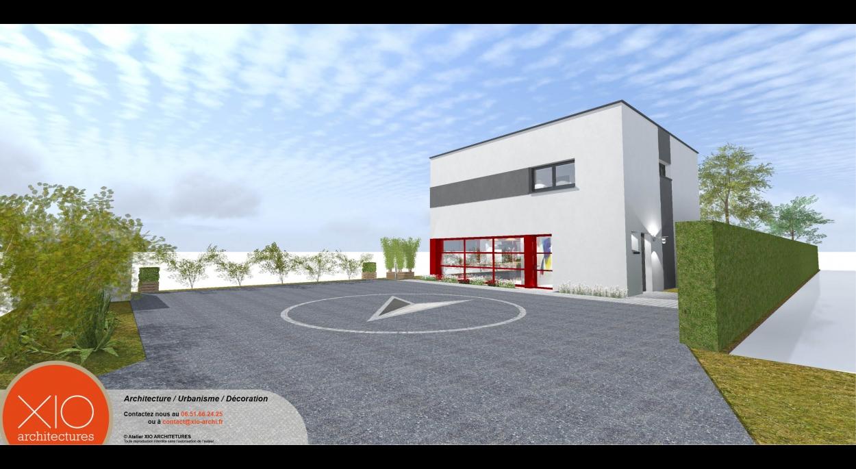 Architecte Cambrai construction d'une habitation individuelle | xio architectures