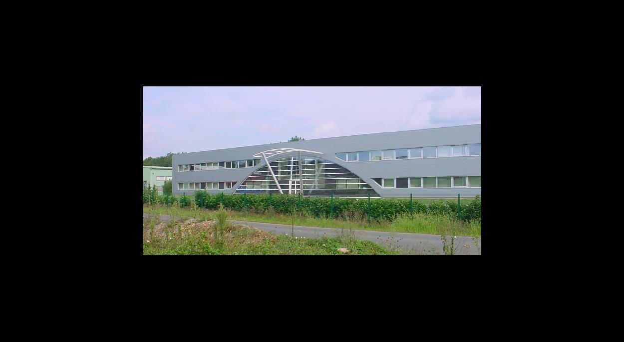 bâtiment industriel à usage de bureaux - atelier | architecture