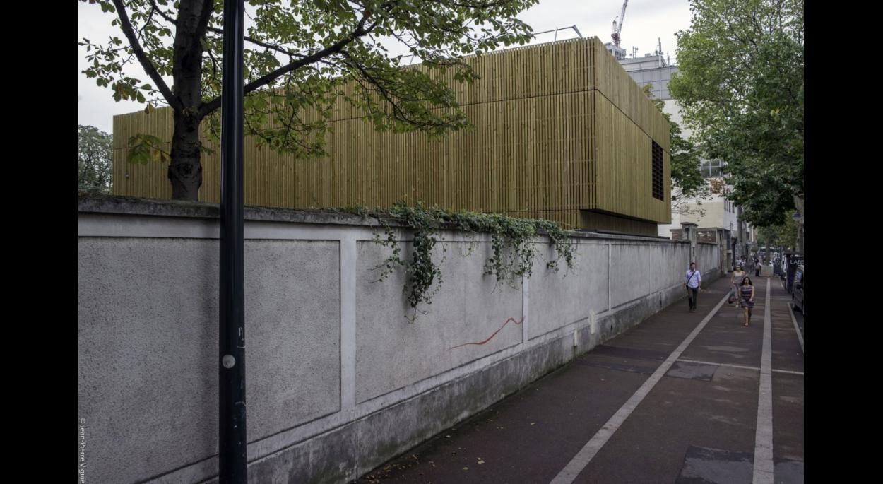 Vue depuis le Boulevard Victor Hugo à Clichy-La-Garenne