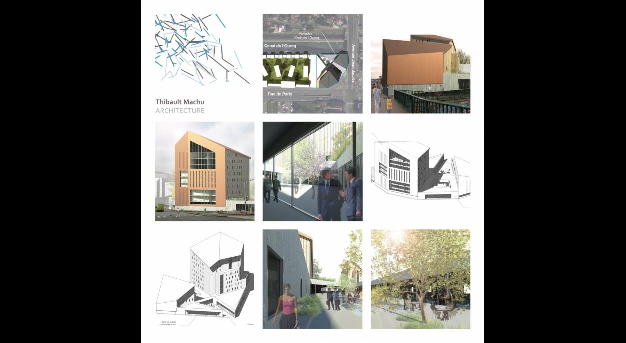 Thibault Machu Architecture _ Concours BIM 2016