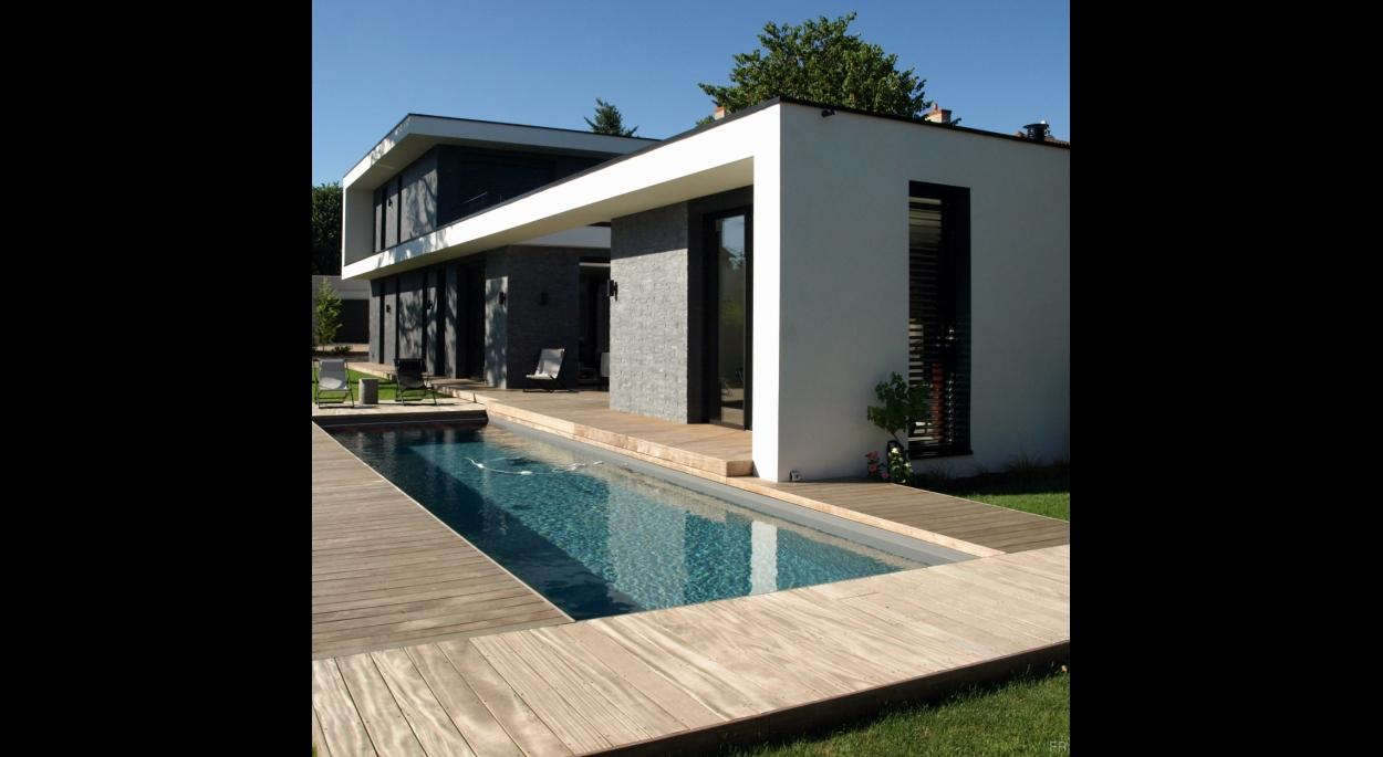 Maison Contemporaine | NAAO ARCHITECTURE | Lyon - Rhône ...
