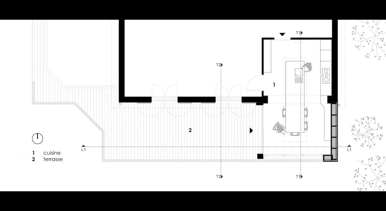 Extension à Méréville _ Alexandre Picardat Architecte
