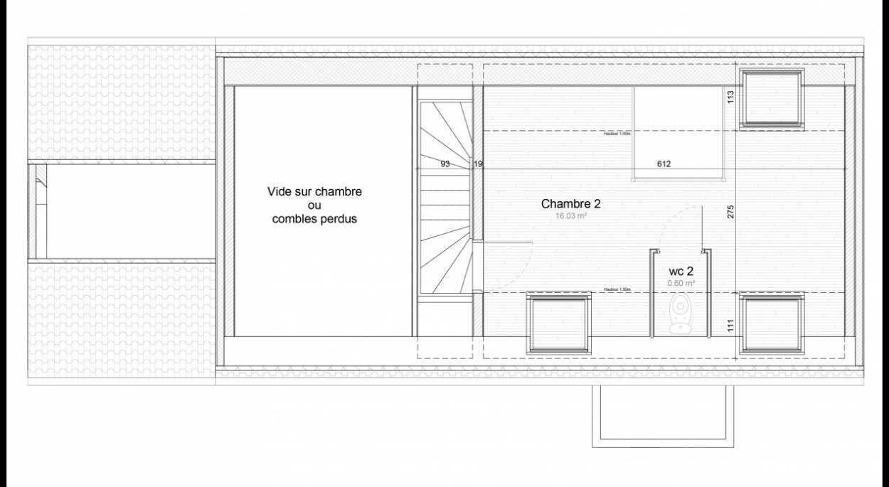 Plan de l'étage (projet)