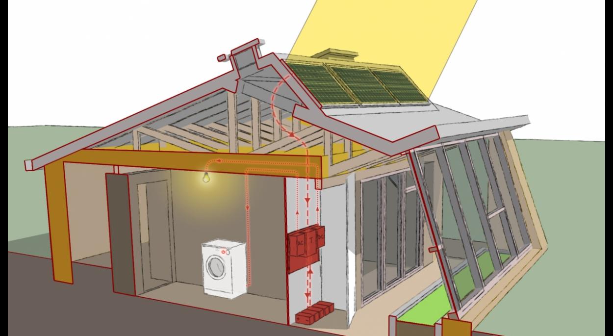 maison solaire autonome avie home. Black Bedroom Furniture Sets. Home Design Ideas