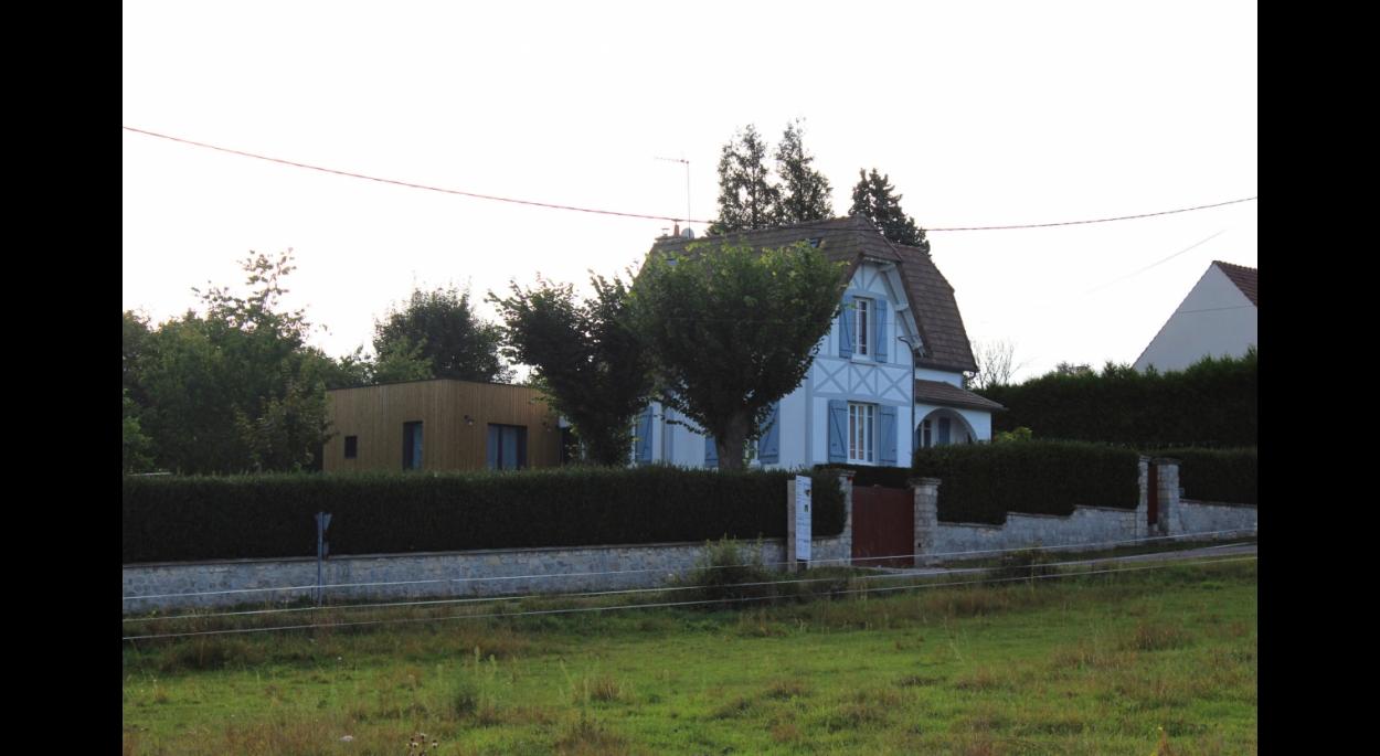 Terrasse En Bois Oise extension en bois d'une maison familiale   aapach