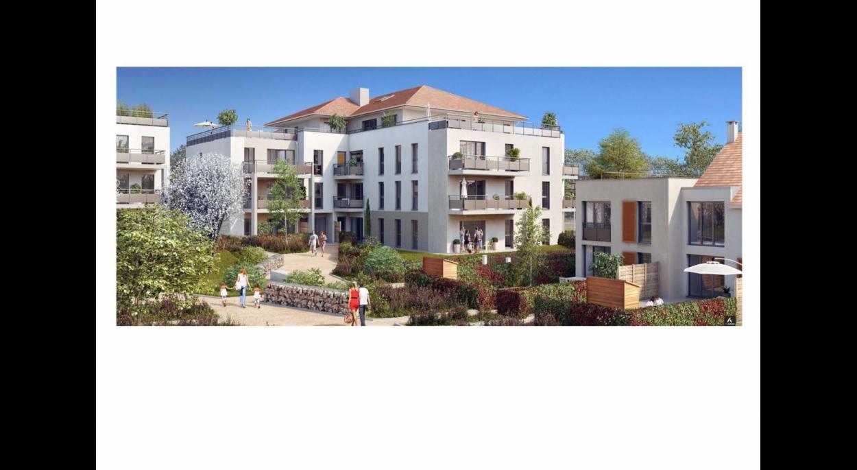 60 logements collectifs, 28 logements intermédiaires, 15 maisons à Cormeilles en Parisis