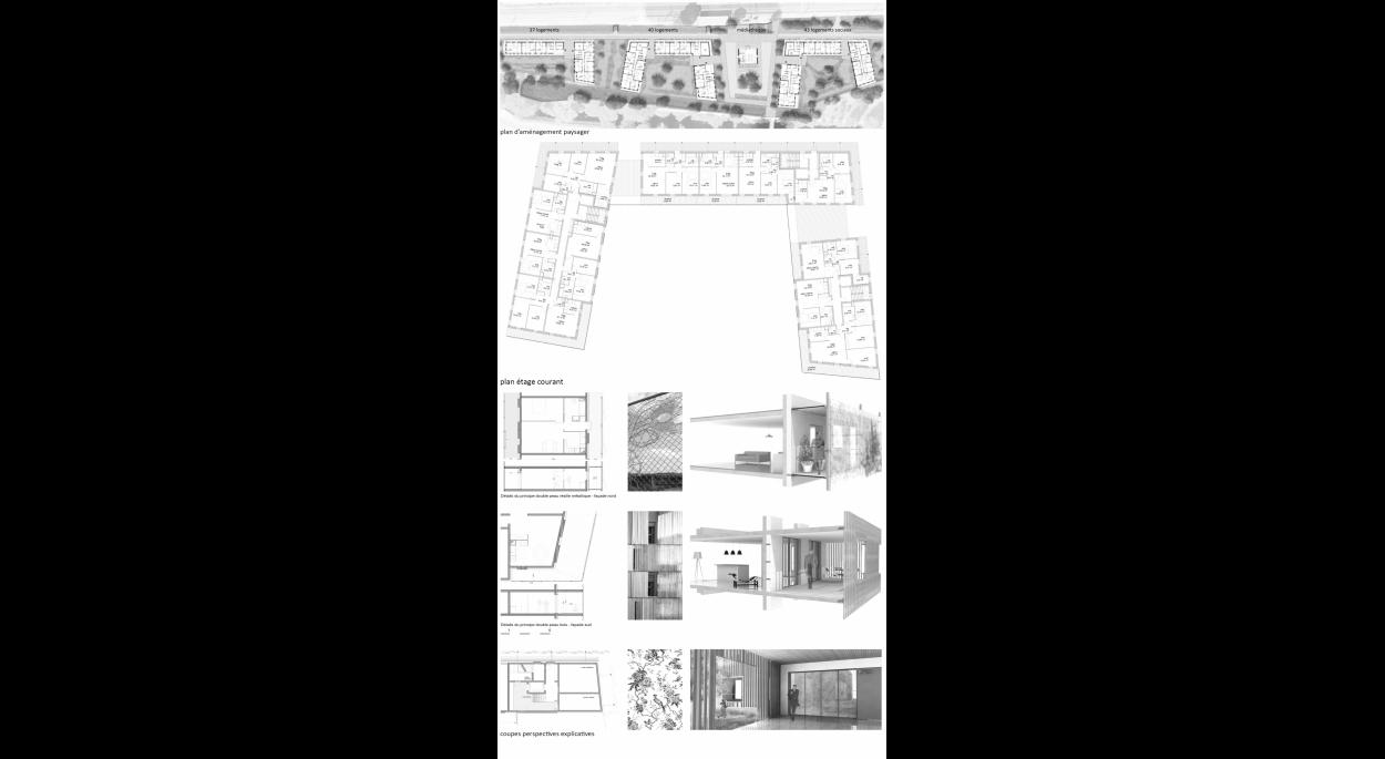 120 logements et réhabilitation médiathèque à Jouy-En-Josas