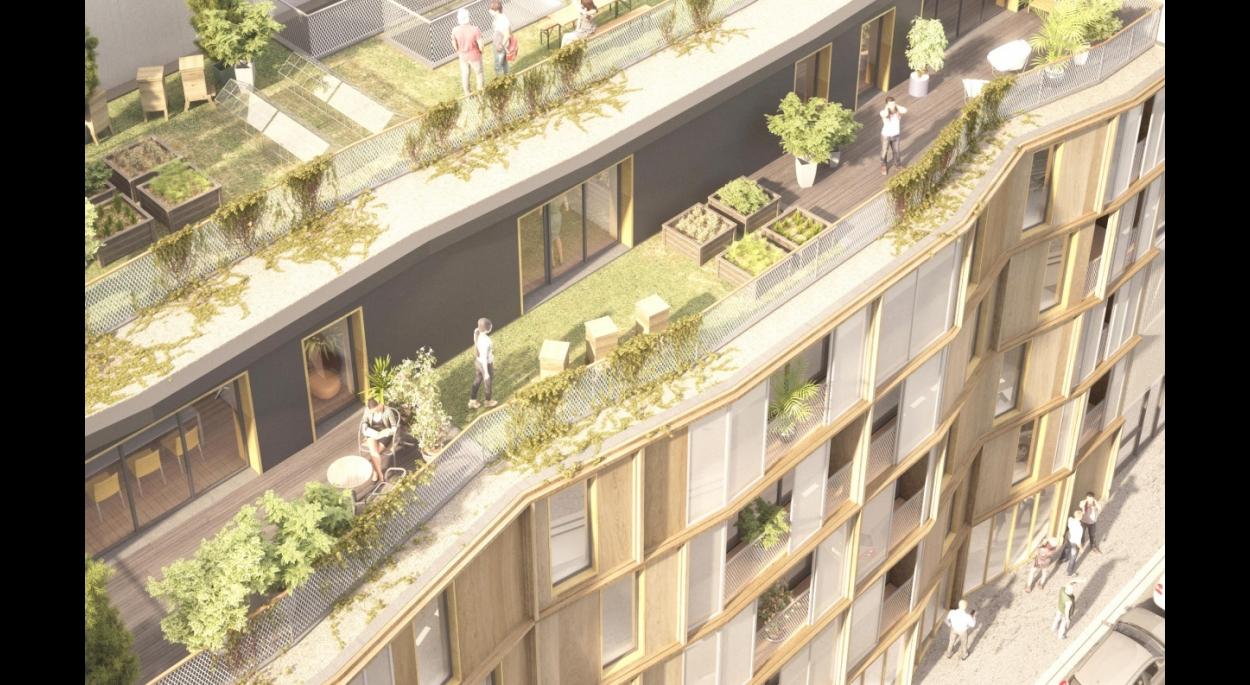 18 logements participatifs et 2 locaux partagés à Paris