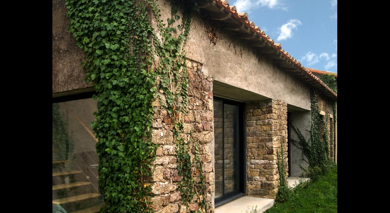 Mise envaleur des murs en pierre existant