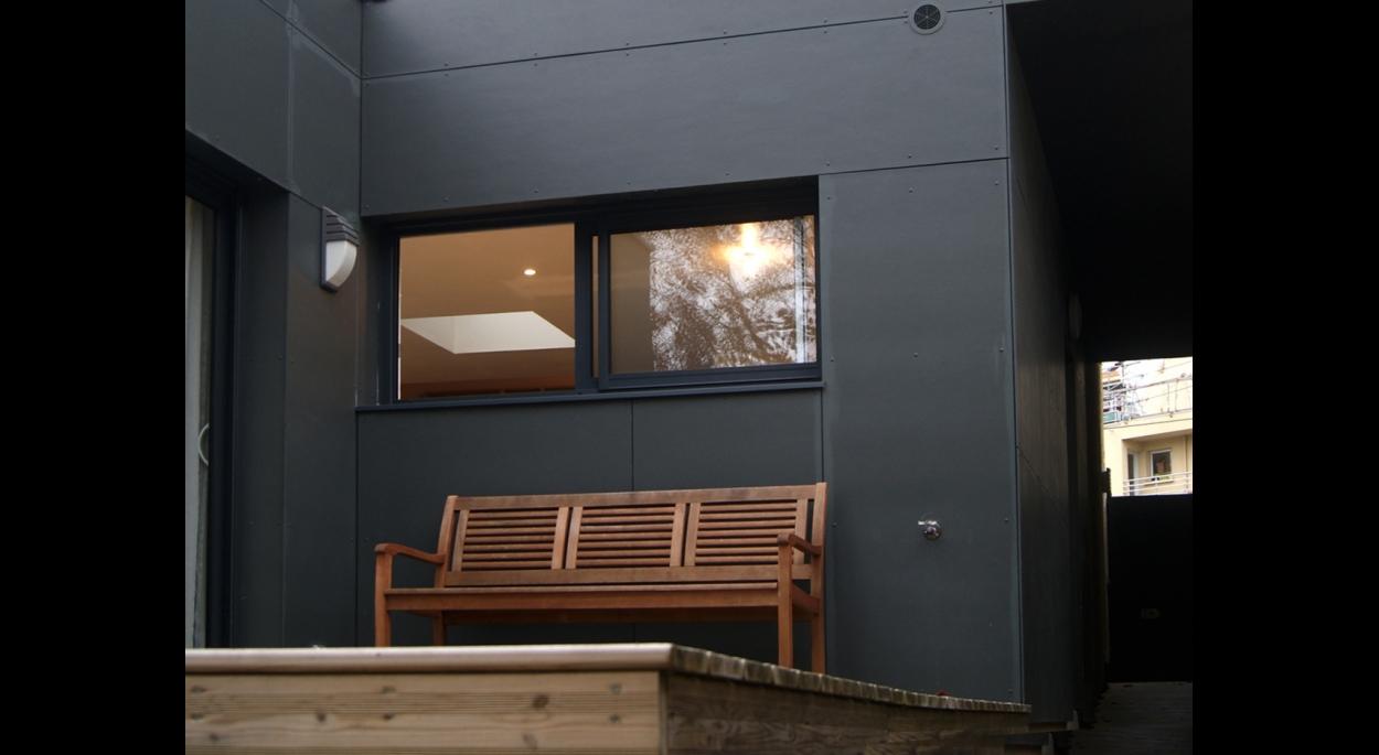 Extension et terrasse
