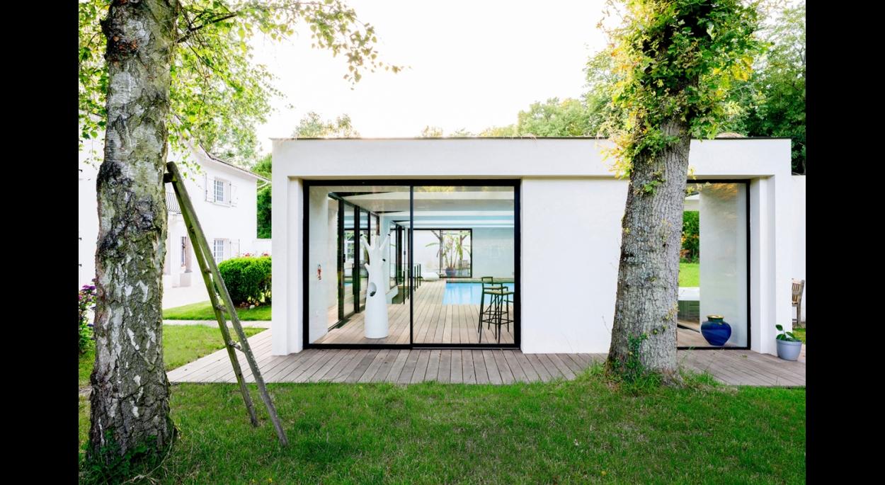 Extension Maison Piscine Couverte piscine couverte - orgeval | skp architecture | paris
